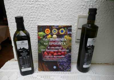 Greek virgin olive oil
